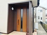 2月20日完成です。筑紫野市岡田・K様邸 外壁塗装・屋根塗装工事