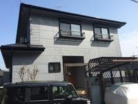 2/20完成です。筑紫野市原・S様邸 外壁塗装・屋根塗装工事