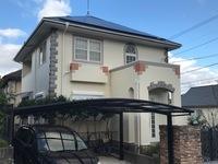 12/5完成です。太宰府市青葉台・T様邸 外壁塗装・屋根塗装工事