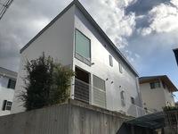 12/28完成です。大野城市つつじが丘・T様邸 外壁塗装・屋根塗装工事