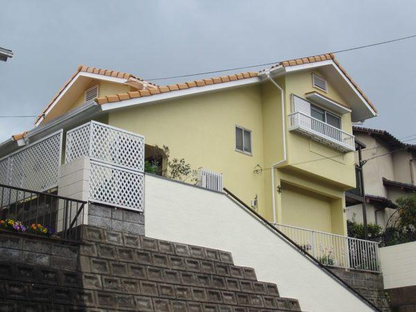 4/3完成です。筑紫野市原・M様邸 外壁塗装・屋根塗装工事