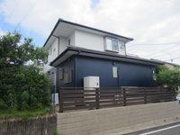 4/13完成です。筑紫野市岡田・N様邸 外壁塗装工事