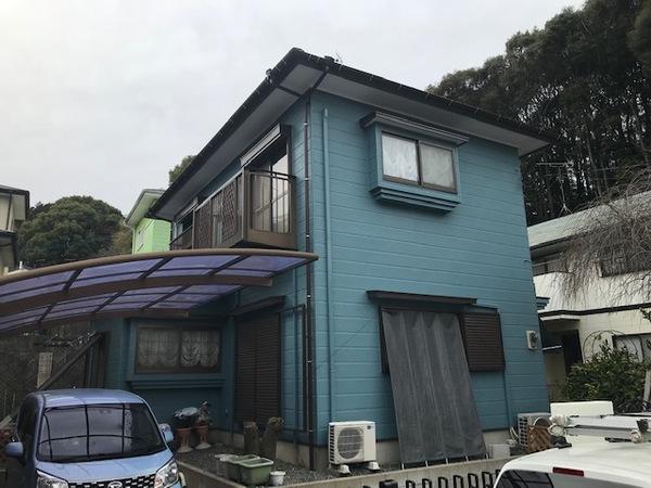 3/15完成です。筑紫野市吉木・Y様邸 外壁塗装・屋根塗装工事