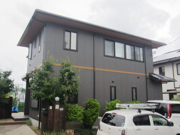 6/9完成です。小郡市希みが丘・O様邸 外壁塗装・屋根塗装工事