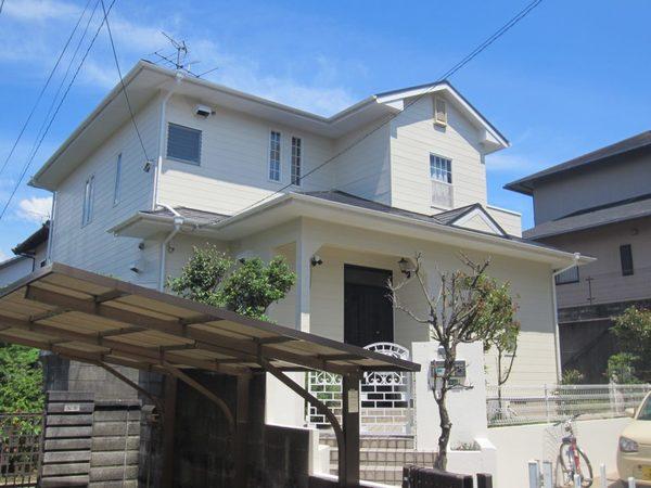 6/16完成です。太宰府市青葉台・S様邸 外壁塗装・屋根塗装工事