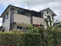 4/19完成です。太宰府市高雄・M様邸 外壁塗装工事