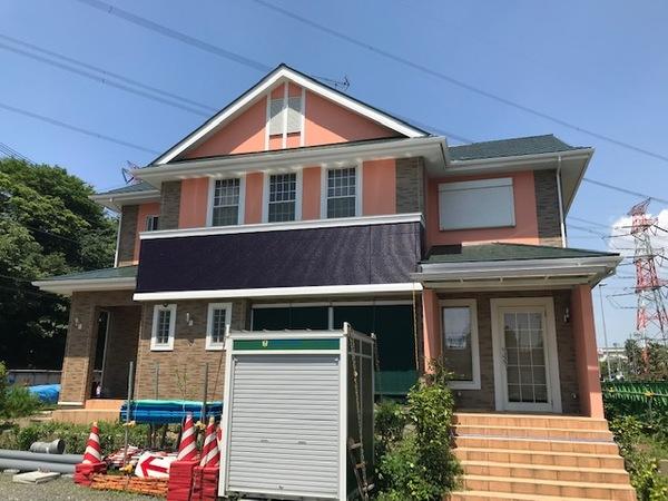 4/27完成です。三養基郡基山町小倉・T様邸 外壁塗装・屋根塗装工事