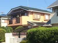 7月31日完成です。太宰府市大佐野・S様邸 外壁塗装・屋根塗装工事