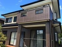 8月12日完成です。太宰府市大佐野・S様邸 外壁塗装・屋根塗装工事