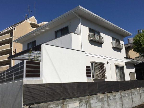 4/5完成です。福岡市南区・M様邸 外壁塗装・屋根塗装工事