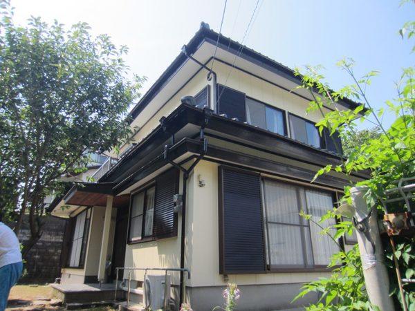 7/14完成です。筑紫野市牛島 O様邸 外壁塗装工事