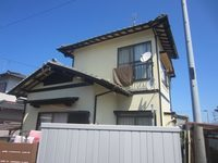 7/24完成です。那珂川町片縄西・O様邸 外壁塗装工事
