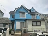 5/27完成です。宇美町ひばりが丘・M様邸 外壁塗装・屋根塗装工事