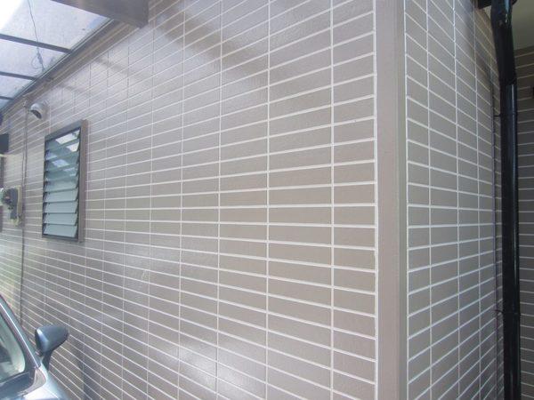8/3完成です。筑紫野市針摺中央・K様邸 外壁塗装・屋根塗装工事