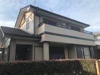 5/10完成です。小郡市三国ヶ丘・K様邸 外壁塗装・屋根塗装工事
