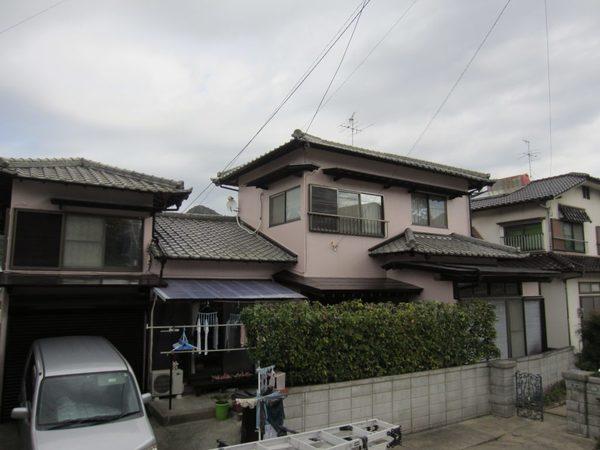 11/29完成です。大野城市乙金東・N様邸 外壁塗装工事
