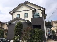 1/25完成です。小郡市希みが丘・N様邸 外壁塗装・屋根塗装工事