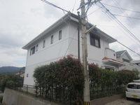 9/7完成です。福岡市西区室見が丘・T様邸 外壁塗装・屋根塗装工事