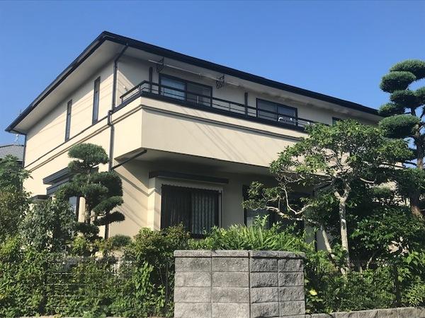 6/29完成です。筑紫野市むさしヶ丘・T様邸 外壁塗装・屋根塗装工事