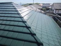 10/18完成です。小郡市希みが丘・H様邸 外壁塗装・屋根塗装工事