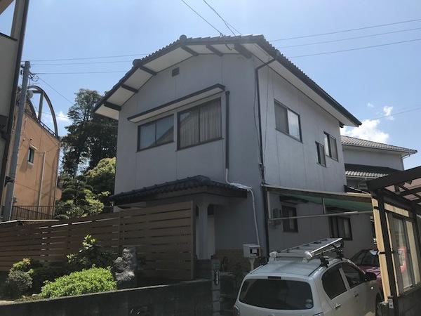 3/31完成です。筑紫野市石崎・K様邸 外壁塗装・屋根塗装工事
