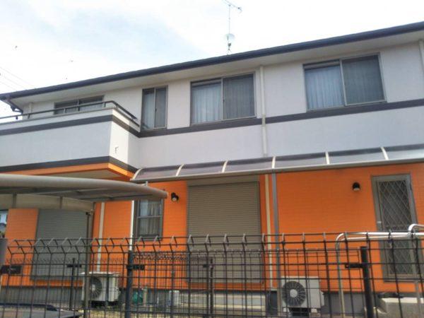 4/25完成です。小郡市美鈴が丘・S様邸 外壁塗装・屋根塗装工事