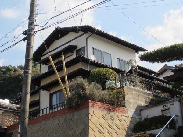 2/22完成です。太宰府市御笠・T様邸 外壁塗装・屋根塗装工事
