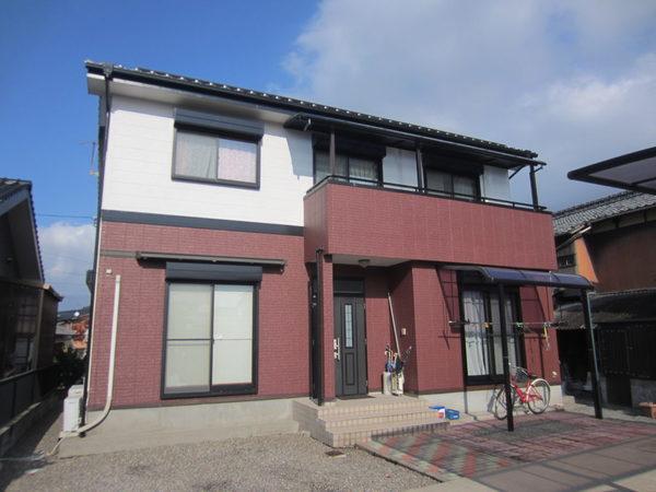 11/14完成です。久留米市高良内町・K様邸 外壁塗装工事