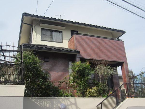 11/26完成です。筑紫野市紫・I様邸 外壁塗装工事
