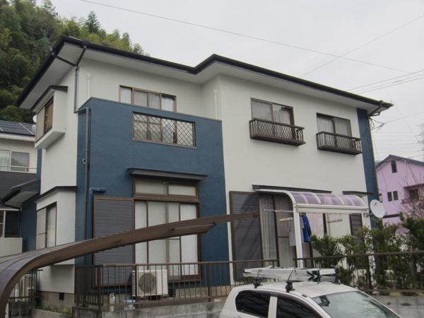 11/28完成です。筑紫野市吉木・K様邸 外壁塗装・屋根塗装工事