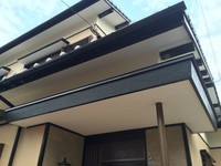 12月26日完成です。宇美町とびたけ・A様邸 外壁塗装工事