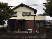 2月28日完成です。福岡市東区高美台・H様邸 外壁塗装・屋根塗装工事