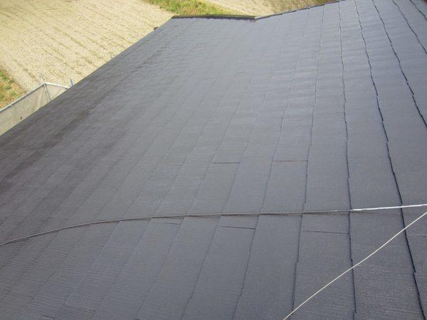 4/10完成です。太宰府市国分・I様邸 屋根塗装工事