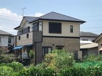 7月26日完成です。筑前町山隈・Y様邸 外壁塗装・屋根塗装工事
