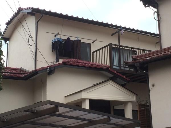 1月7日完成です。筑紫野市上古賀・O様邸 外壁塗装工事