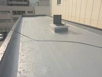1月17日防水工事完了です。博多駅前4丁目・福本ビル様