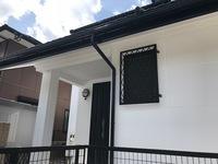 8月12日完成です。古賀市舞の里・O様邸 外壁塗装・屋根塗装工事