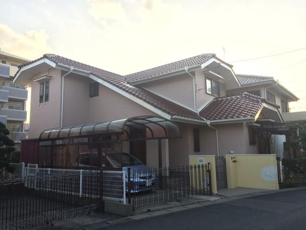 2月15日完成です。小郡市三沢・N様邸 外壁塗装・屋根塗装工事