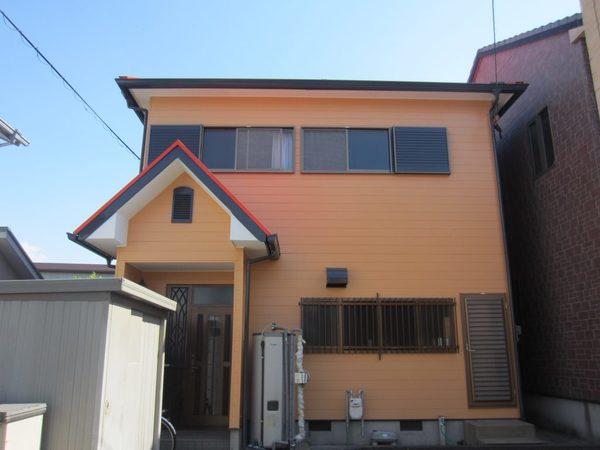 5/8完成です。筑紫野市湯町・I様邸 外壁塗装・屋根塗装工事