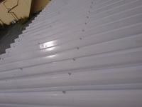 10月2日完成です。福岡県朝倉市屋永・T様邸 屋根塗装・外壁塗装・折半車庫屋根・鉄骨塗装工事