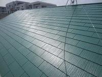 3/30完成です。粕屋郡志免町志免・ヴィレッジ和泉様 外壁塗装・屋根塗装工事