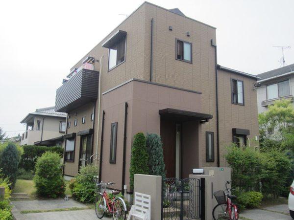 6/9完成です。太宰府市観世音寺・T様邸 外壁塗装・屋根塗装工事