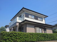 5/10完成です。筑紫野市原・S様邸 外壁塗装・屋根塗装工事