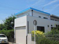 6/12完成です。太宰府市都府楼南・F様邸 外壁塗装・屋上防水工事