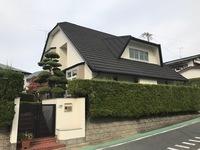 11月13日完成です。福岡市東区松香台・I様邸 外壁塗装・塀塗装工事