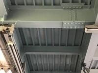 1月6日完成です。大野城市・山田自動車様 屋根塗装工事