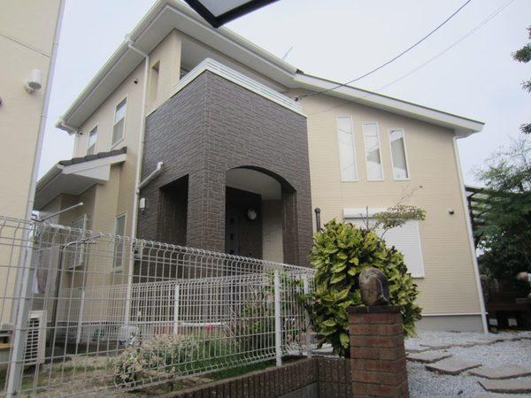 9/16完成です。太宰府市通古賀・U様邸 外壁塗装工事