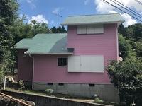 7/29完成です。由布院・A様邸 外壁塗装・屋根塗装工事