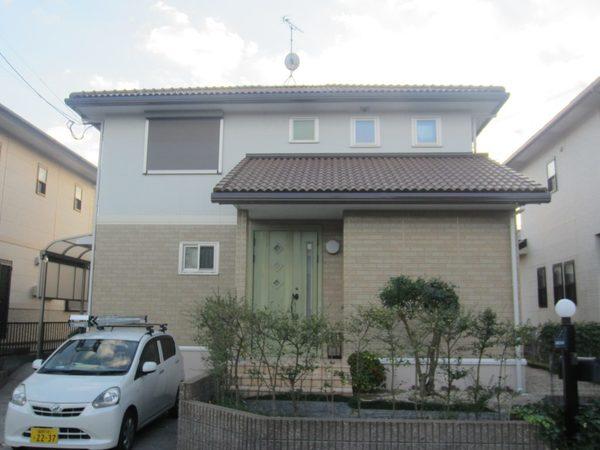 11/18完成です。筑紫野市岡田・U様邸様邸 外壁塗装工事