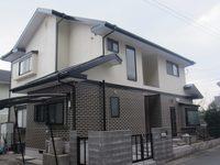 12/15完成です。筑紫野市吉木・M様邸 外壁塗装・屋根塗装工事